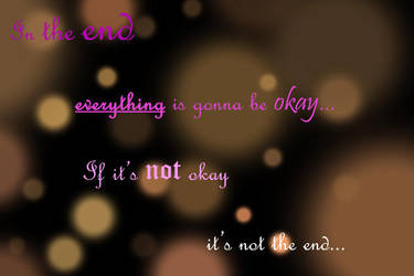 In the End... by Marija343