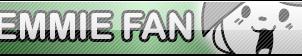 Undertale Temmie fan button by SilverFlame666