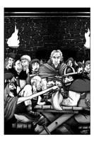 Fantasy novel illo 1 of 5 by JLRoberson