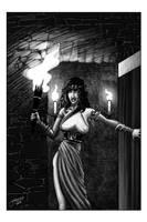 Fantasy novel illo 4 of 5 by JLRoberson