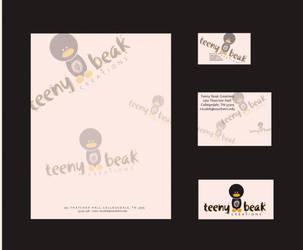 Teeny Beak Creation Letterhead by pinguinadearte