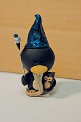 Merlin Penguin by pinguinadearte