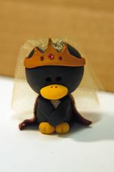 Queen Gueniviere Penguin by pinguinadearte