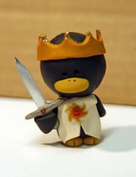 Monty Python KingArthurPenguin by pinguinadearte