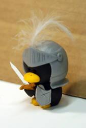 Sir Lancelot Penguin by pinguinadearte