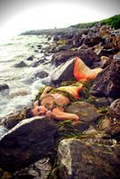 Hiding mermaid by MerBellas