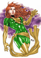 Jean Grey Phoenix Colors (Fredbenes) by Josh-84