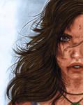 Lara Croft - Survivor Colors (As-If-I-Draw) by Josh-84