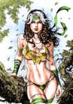 Savage Land Rogue Colors (David Lima) by Josh-84