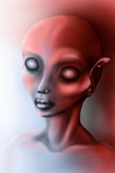 drawing tablet practice alien by manoatari