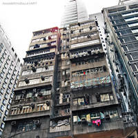 honkong living by paintmewet