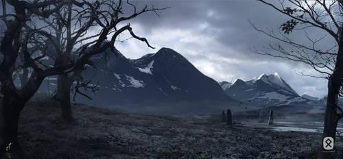 Viking Landscape Mini by Fetscher