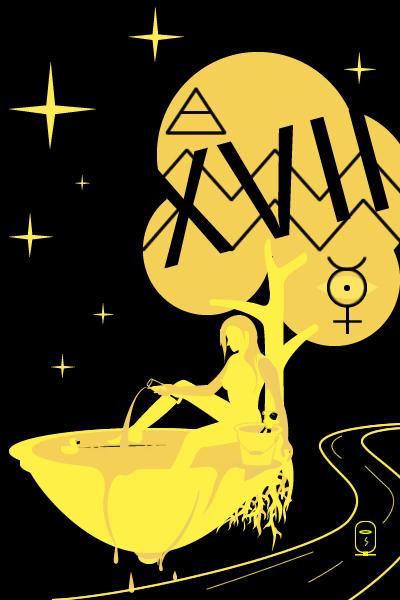 Tarot of inner fire: Star card by inok