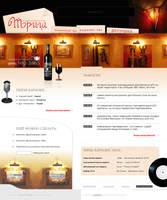 Trish Restaurant site by inok