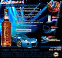 EfesMANIA promo-site by inok
