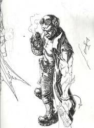 hellboy by postaldude666