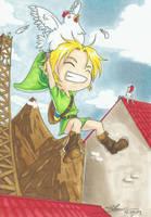 Link a Kokoriko by Binoute-chan