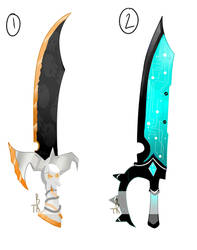 Weapon Adopt Batch 1 Auction (OPEN) by T-BoneAdopts