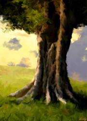 Tree by irishflower1