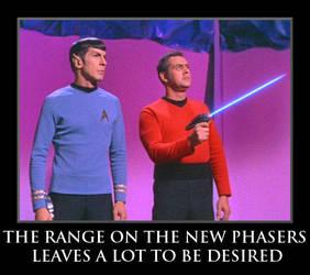 Star Trek Phaser by MajorMagna
