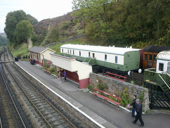 Goathland Station Study 2 by MajorMagna