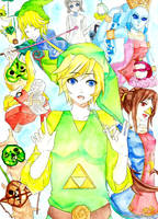 LOZ - The Wind Waker by MindlessFrappe