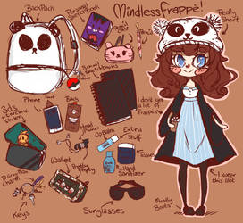 Whats in my Bag! by MindlessFrappe