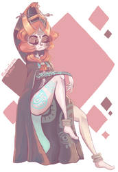 LOZ: Twilight Princess by MindlessFrappe