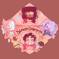 Steven Universe! by MindlessFrappe