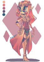 Hyrule Warriors - Princess Zelda by MindlessFrappe