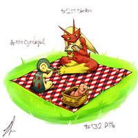 December Challenge day 26,27,28: a simple picnic by Zeker-diahb