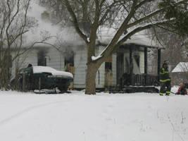 Abandoned House Fire by DreamsInDigital