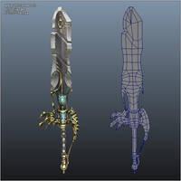 Angelic Sword 03 by bitgem