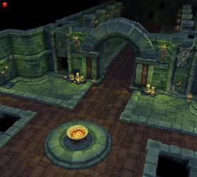 Dungeon Set 01 by bitgem