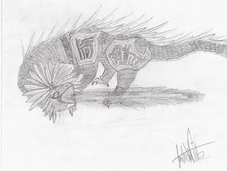 Dragons: Kuong by Moleo4