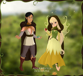 Jen and Kira by Disneycow82