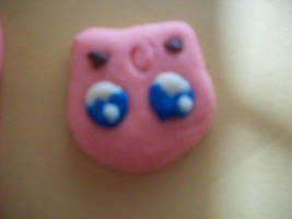 Jiggllypuff pokemon cookie by Ratty08