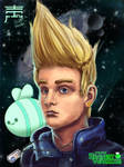 Chris the Bravest Warriors by justinwharton