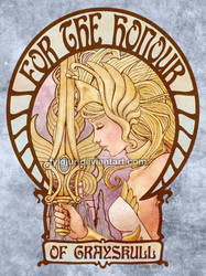 Art Nouveau She-Ra by Cospigeon