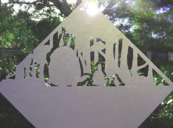 Totoro Papercraft by Yuki-333