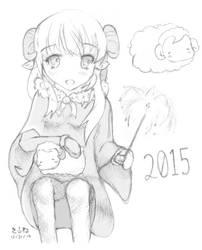 Happy 2015! by Yuki-333