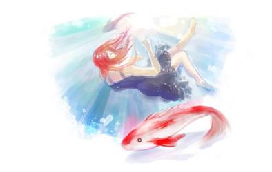 Drowning by Yuki-333