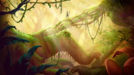 Ea'dhrel forest by DanOliveira