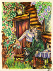 Retirement - Snape-Lupin, G by carthasis