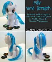 Filly Vinyl Scratch by Kanamai
