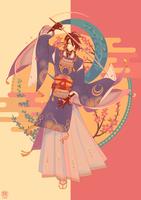 TR: mikazuki by erebun