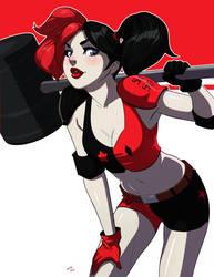 Harley Quinn by Mro16