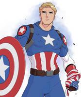 Captain America by Mro16