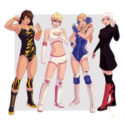 Wrestler Commission by Mro16