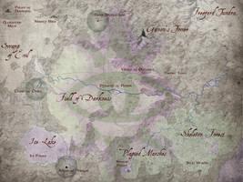 Dark World Map - Dark Deluge by mattleese87